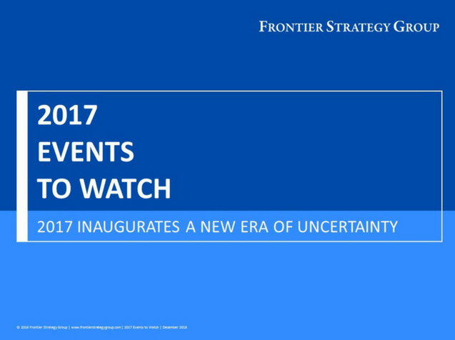 2017 Events to Watch