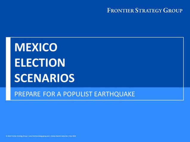 Mexico Election Scenarios