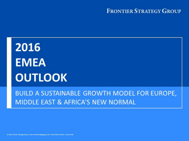 2016 Europe, Middle East & Africa (EMEA) Outlook