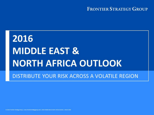 2016 Middle East & North Africa Outlook