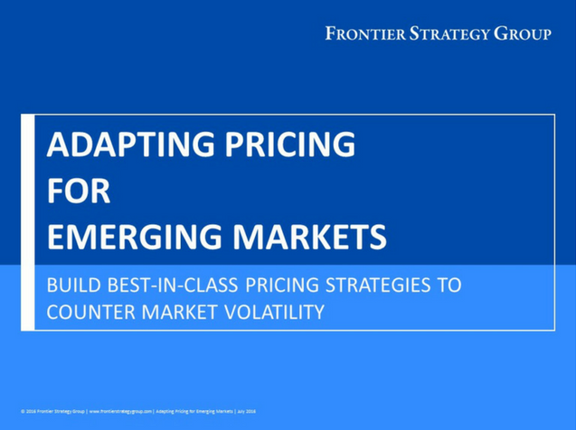 Adapting Pricing for Emerging Markets