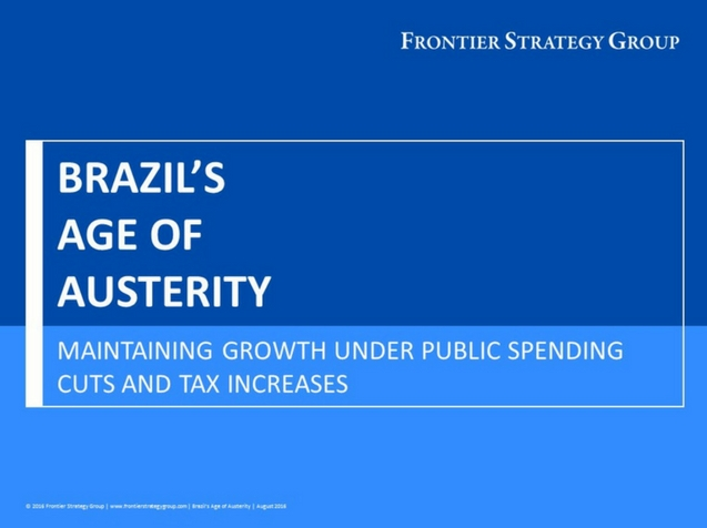 Brazil's Age of Austerity