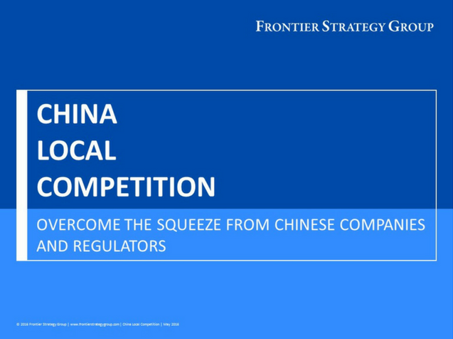 China Local Competition