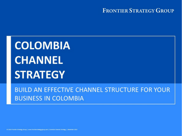 Colombia Channel Strategy