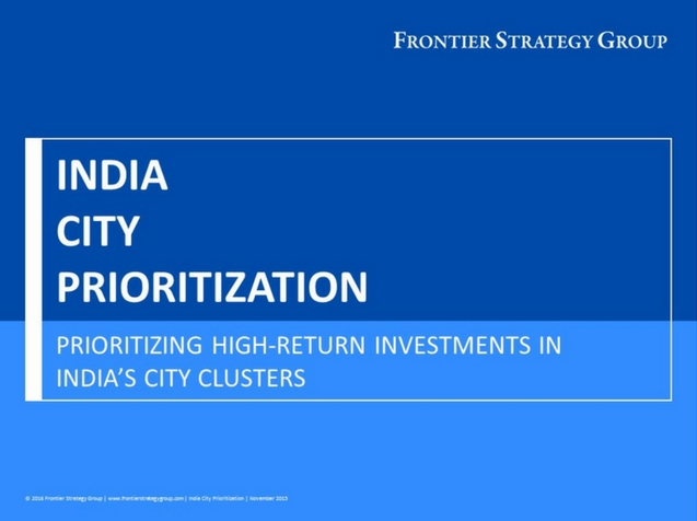 India City Prioritization