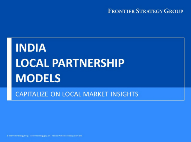 India Local Partnership Models