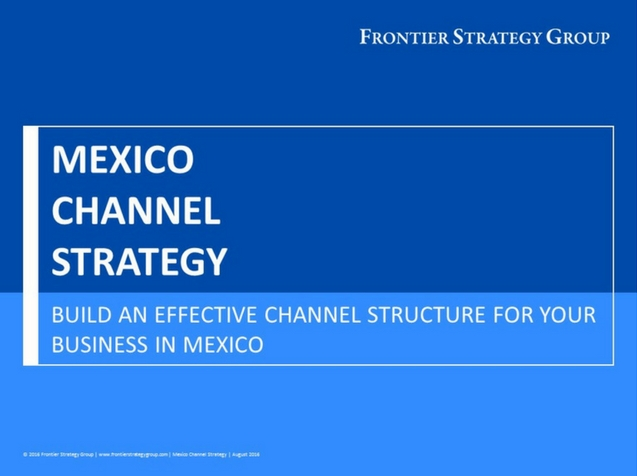 Mexico Channel Strategy