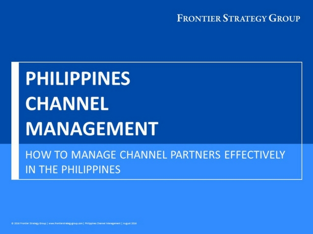 Philippines Channel Management