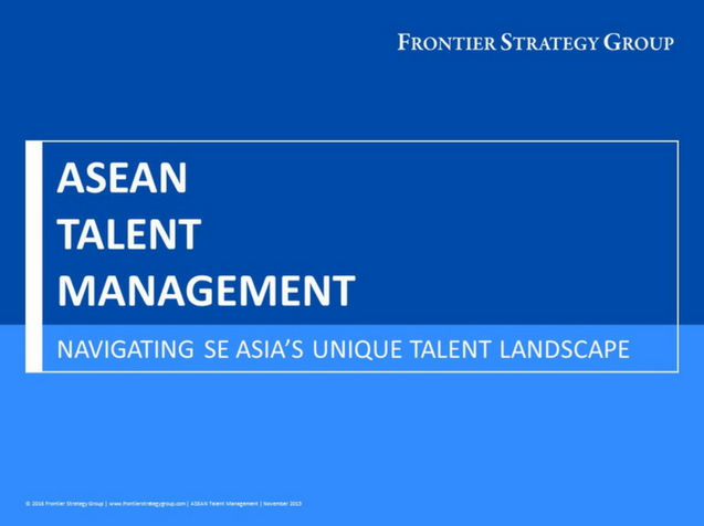 ASEAN Talent Management