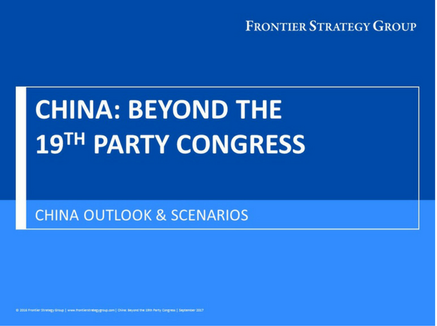 China - Beyond the 19th Party Congress