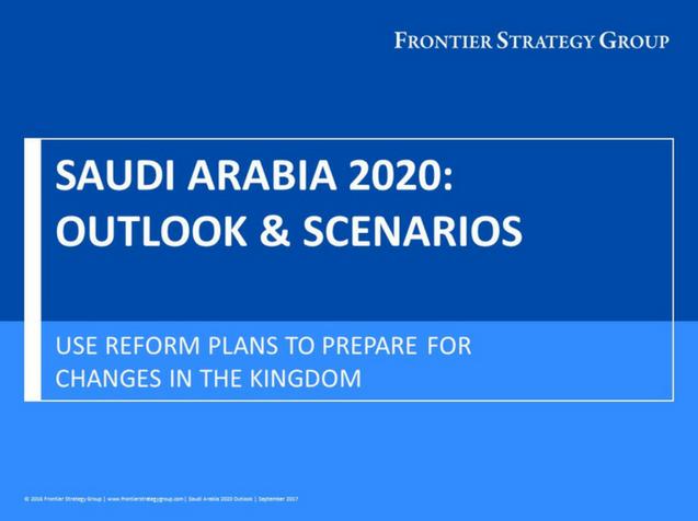 Saudi Arabia 2020 Outlook & Scenarios