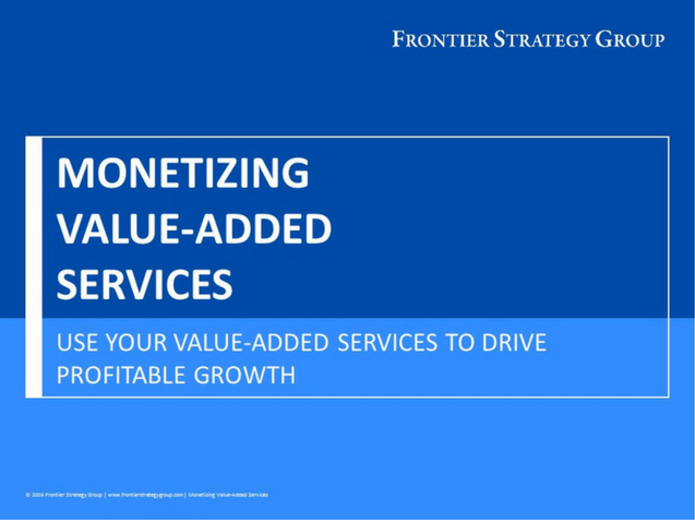 Monetizing Value-Added Services