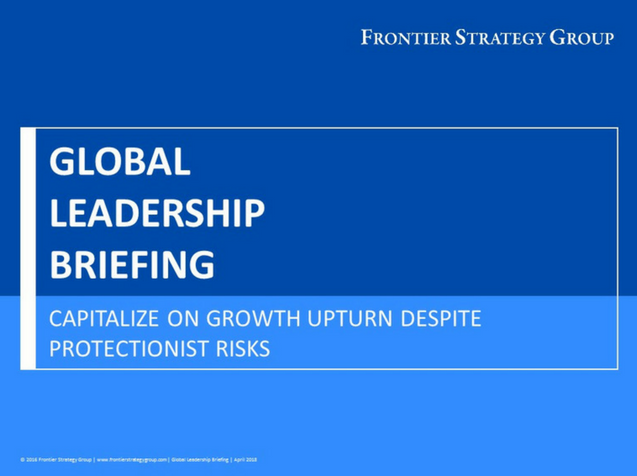 Global Leadership Briefing - April 2018